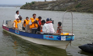 Rent an 8 person deck boat in Punjab, Pakistan