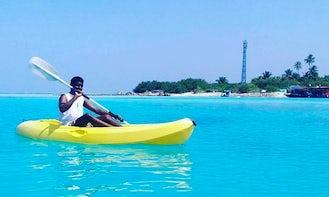 Rent a Single Kayak in Keyodhoo, Maldives