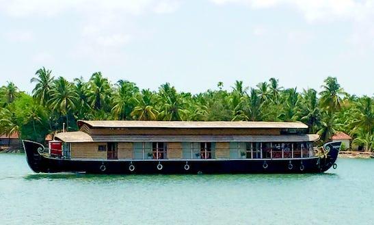 Charter Lacosta Houseboat In Thaikadappuram, Kerala