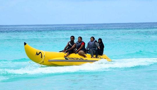 Enjoy Tubing In Gulhi, Maldives