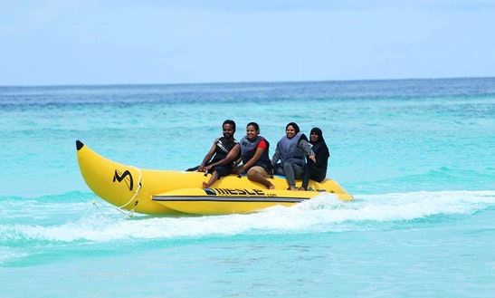 Enjoy Tubing In Gulhi, Maldives