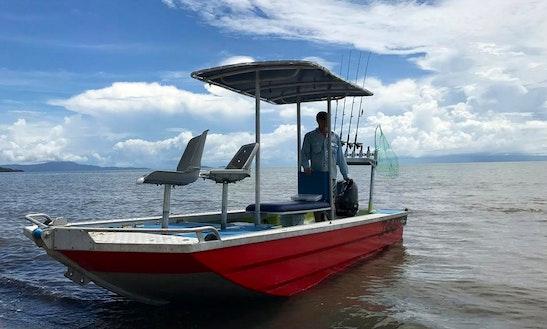 Enjoy Fishing In Port Douglas, Australia On Jon Boat