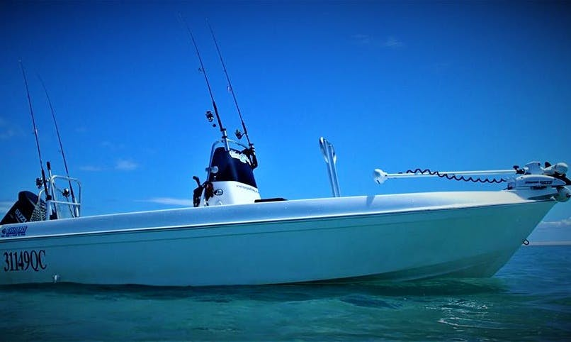 Enjoy Fishing in Booral, Australia on Center Console