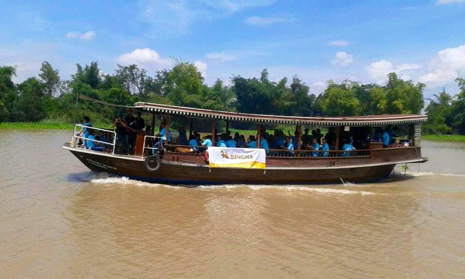 Charter a Canal Boat in Tambon Nong Phai Baen, Thailand