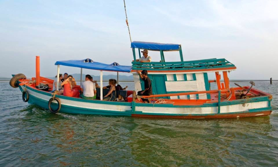 Charter a Trawler in Krong Kampot, Cambodia