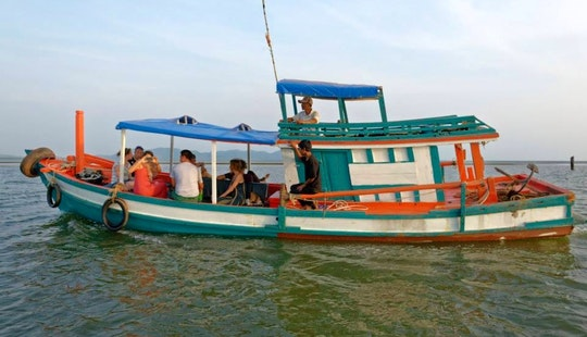 Charter A Trawler In Krong Kampot, Cambodia
