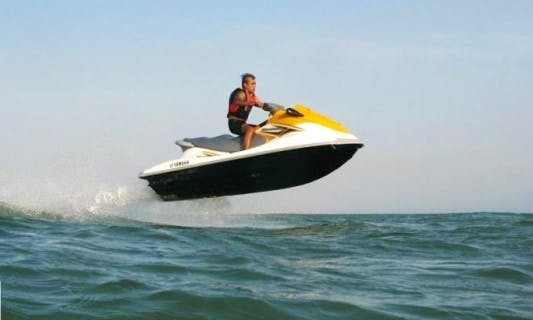 Rent a 2 person Jet Ski in Karachi, Pakistan for $10 for 15 minutes
