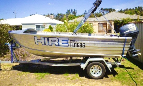 Rent 14' D25 Quintrex Dinghy In Gelorup, Australia