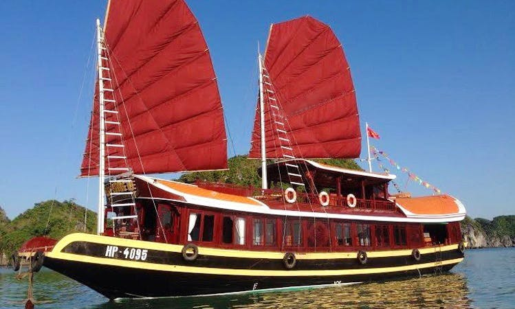 Exceptional boat tours in Quảng Ninh, Vietnam on a Gulet