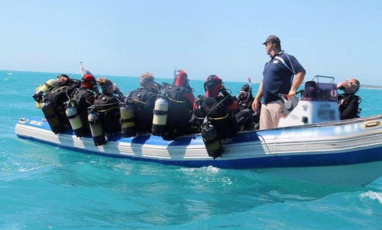Rib Rental In Walmer, South Africa For Your Scuba Diving Trip