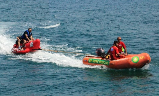 Enjoy Banana Boat Rides In Karachi, Pakistan
