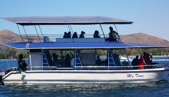 Cruising In Hartbeespoort, South Africa On My Time Passenger Boat