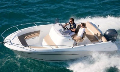 Rent 21' Cap Camarat Center Console in Saint-Tropez, France