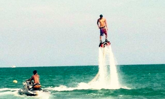 Enjoy Flyboarding In Ko Samui, Thailand