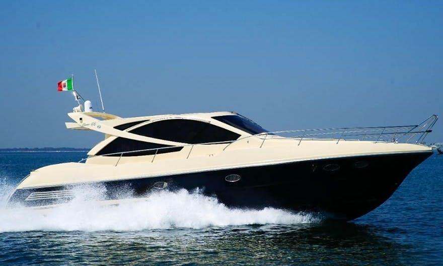 Charter 48' Nafta 48 Motor Yacht in Saint-Tropez, France