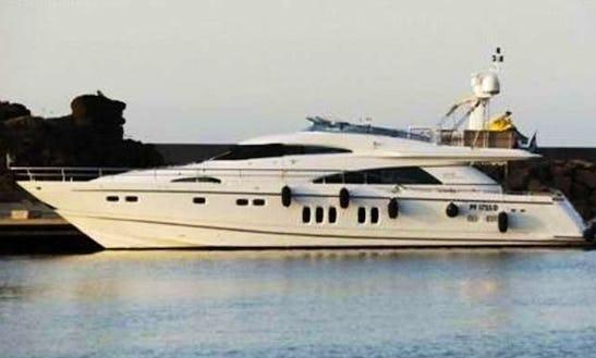 Charter Fairline 78 Power Mega Yacht In Saint-tropez, France