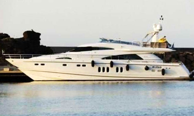 Charter Fairline 78 Power Mega Yacht in Saint-Tropez, France