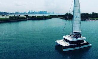 Charter a Cruising Catamaran in Singapore
