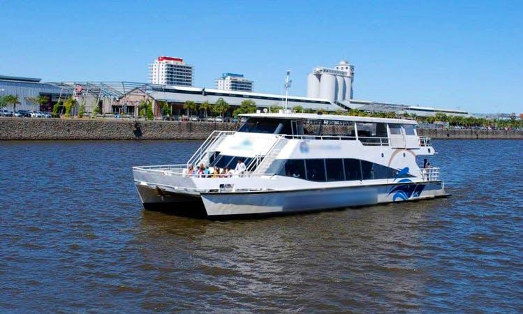 'Costa Litoral' Power Catamaran Trips in Santa Fe