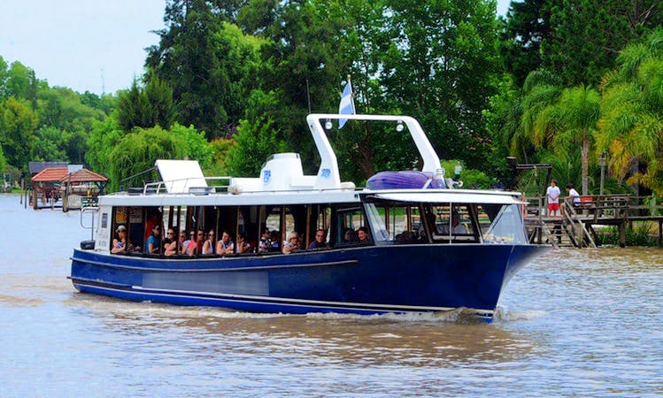 """River Cruises on the """"Green Star"""" Boat in Buenos Aires"""