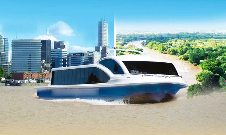 """River Cruises on the """"Red Star"""" Boat in Buenos Aires"""