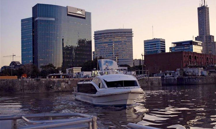 """River Cruises on the """"La Becasina"""" Boat in Buenos Aires"""