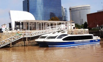 """River Cruises on the """"Silver Star"""" Boat in Buenos Aires"""