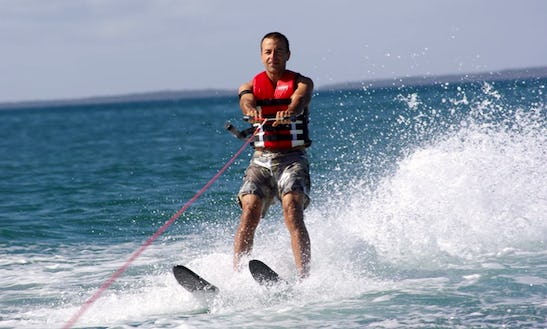 Enjoy Water Skiing In Kuta, Bali