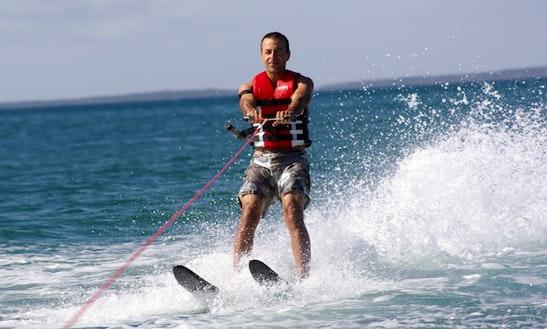Enjoy Water Skiing In Kuta, Bali