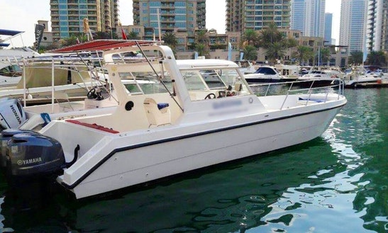 Charter A Cuddy Cabin In Dubai, United Arab Emirates