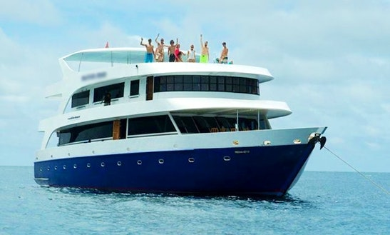 Charter A Power Mega Yacht In Malé, Maldives