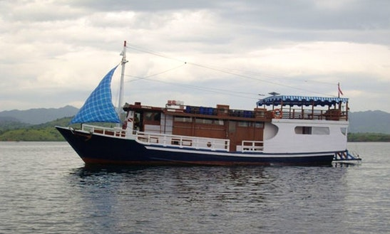 Charter 67' Mv Nusa Tara Traditional Schooner In Denpasar Selatan, Indonesia