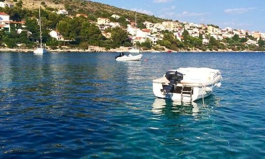 Rent Pasara Adria 400 Dinghy In Trogir, Croatia