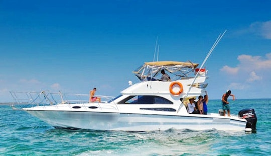 Enjoy Fishing And Tours In Kuta Selatan, Bali On 43' Sport Fisherman