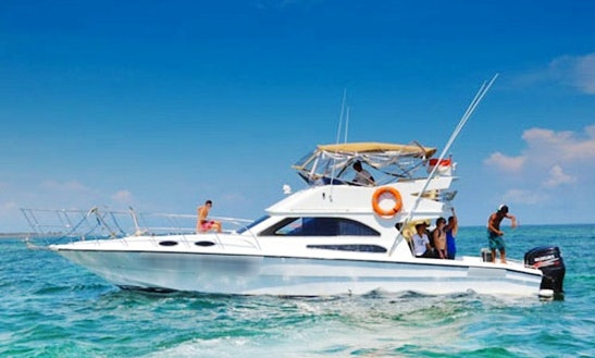 Enjoy Fishing In Kuta Selatan, Bali On 43' Sport Fisherman
