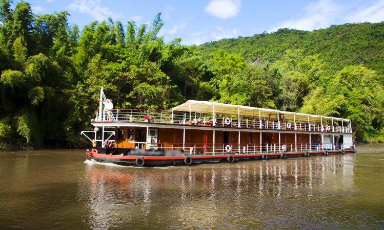 Charter 120' The RV River Kwai Canal Boat in Kanchanaburi, Thailand