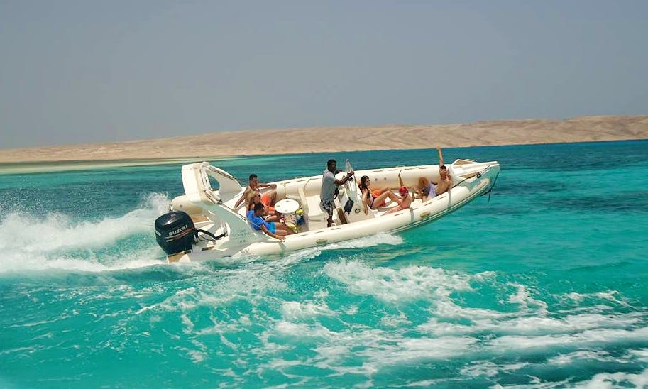 Enjoy the Red Sea Governorate, Egypt by Rigid Inflatable Boat Charter