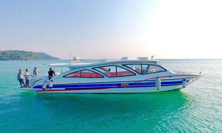 Cruise in Style on a Motor Yacht in Sihanoukville, Cambodia