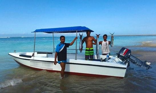 Passenger Boat In Kuta