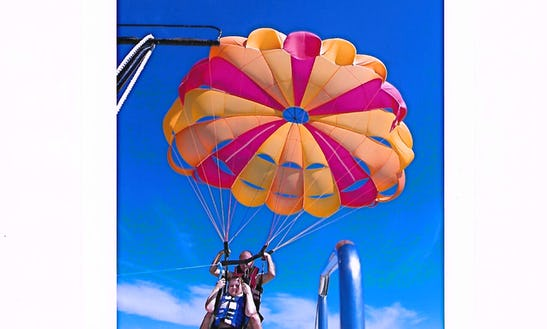 Parasailing The Safest Way In Nuevo Vallarta