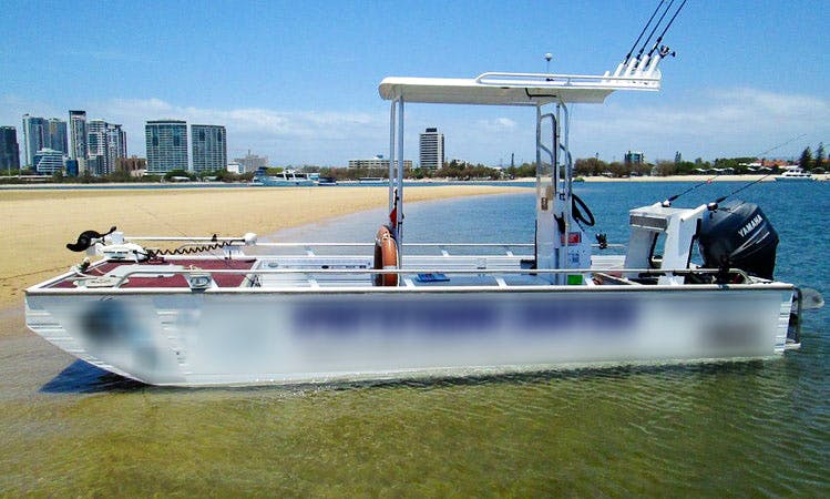 """Currumbin Sport Fishing Charter on """"Edgetracker"""" and """"Reel Time"""" Boats with Captain Brad"""