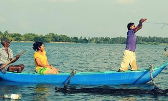 Discover the Waters of Eluwankulama on a fishing Trip!