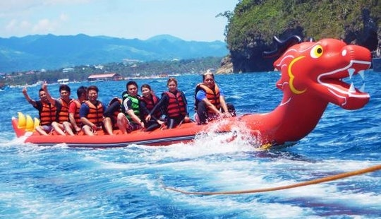 Try Banana Boat Rides In Malay, Philippines