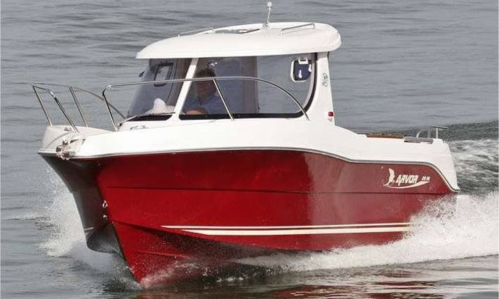Rent 22' Arvor 215 Cuddy Cabin in Kabelvåg, Nordland | GetMyBoat