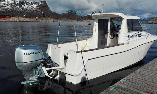 Rent Rodman 620 Cuddy Cabin In Kabelvåg, Nordland