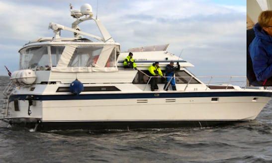 Enjoy Fishing In Kabelvåg, Nordland On 48' Motor Yacht
