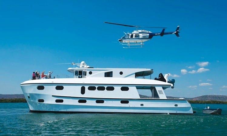Charter 85' Power Mega Yacht in Kimberley, Western Australia
