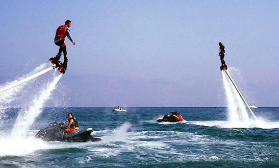 Enjoy Flyboarding In Loano, Italy
