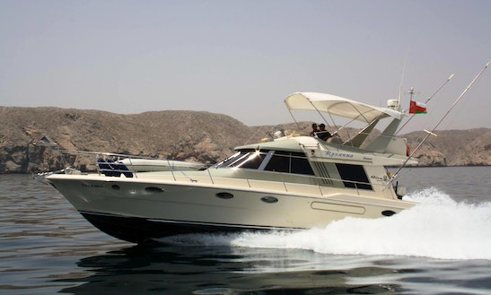 Enjoy Fishing In Muscat, Oman On 46' Riva Sport Fisherman