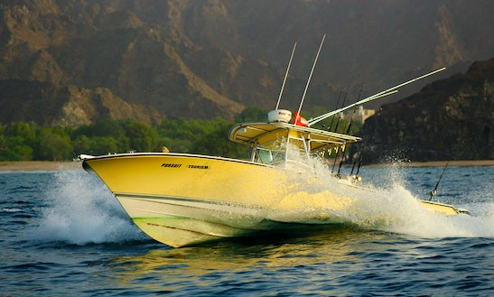 Try Fishing In Muscat On Our 36ff Boat